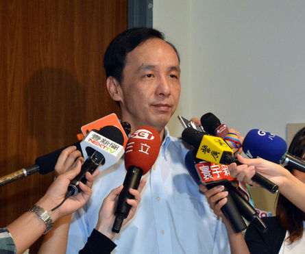 Chu calls for solidarity within the KMT