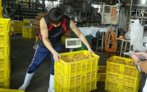 Supplier of tainted bean curds busted in Pingtung County