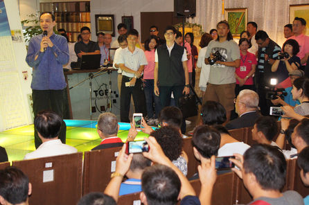 Chu says he is not cutting ties with President Ma