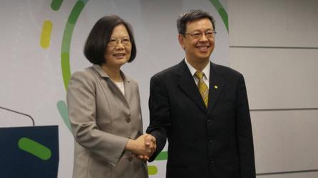 Tsai confirms Chen Chien-jen as her running mate