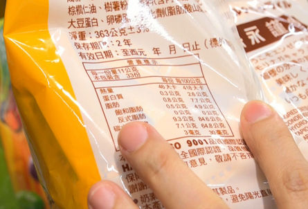 Keelung authorities: 146 items fail food labeling regulations