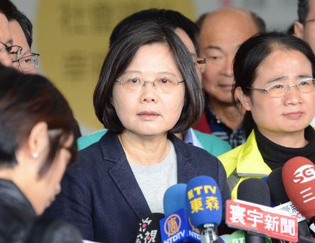 Tsai urges KMT VP choice to explain housing scandal