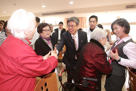 Chen woos Ilan residents during campaign rally