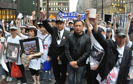 Chinese activist slams Ma for 'stooping low'