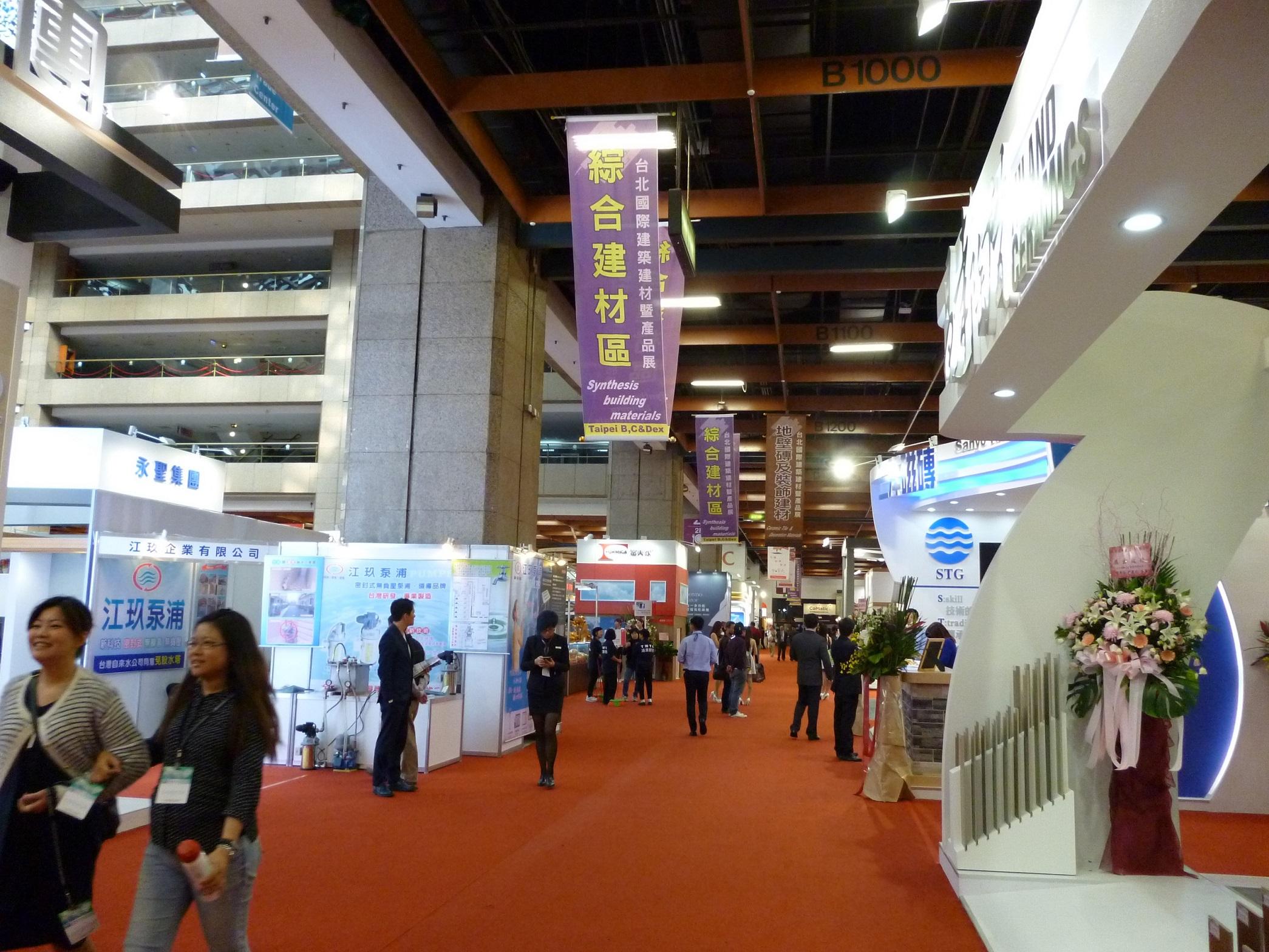 Taipei Building Show 2015 jumps on eco-friendly bandwagon