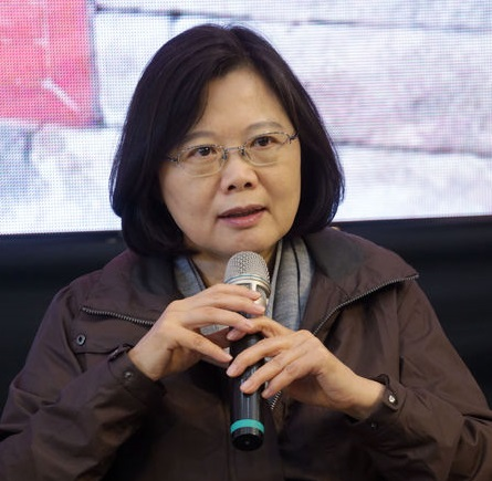 Tsai opposes Chinese takeover of SPIL