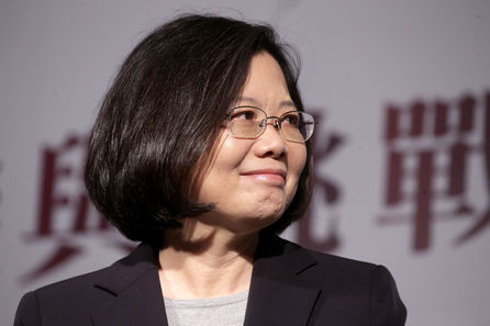 Tsai gears up for 30-day election countdown