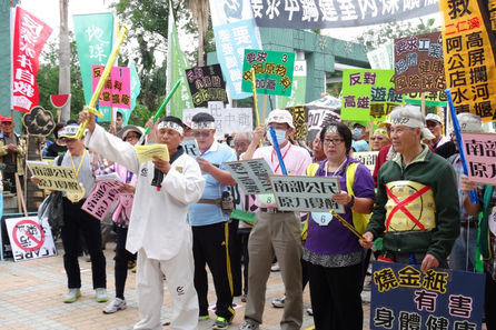 Anti-pollution march to feature giant lung