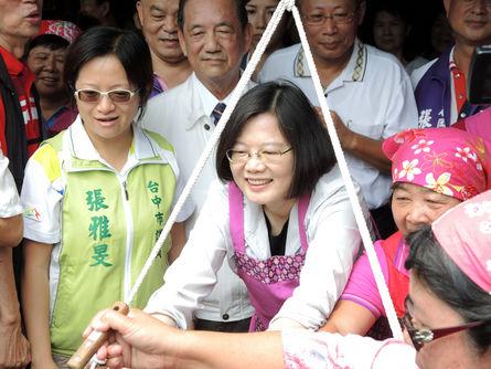 Tsai set to score majority of Hakka votes: Yeh