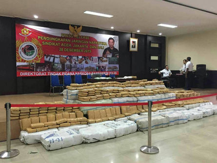1,700 kg-worth of marijuana destined for Taiwan seized in Indonesia: NPA