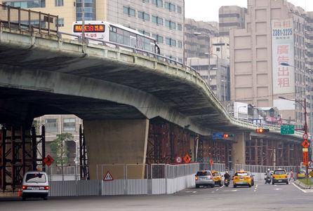 Zhongziao Bridge to be demolished during Lunar New Year holiday