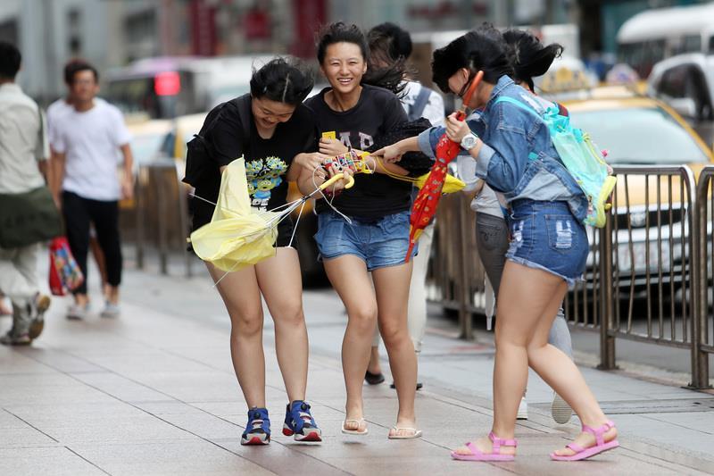 Typhoon holidays last into Saturday