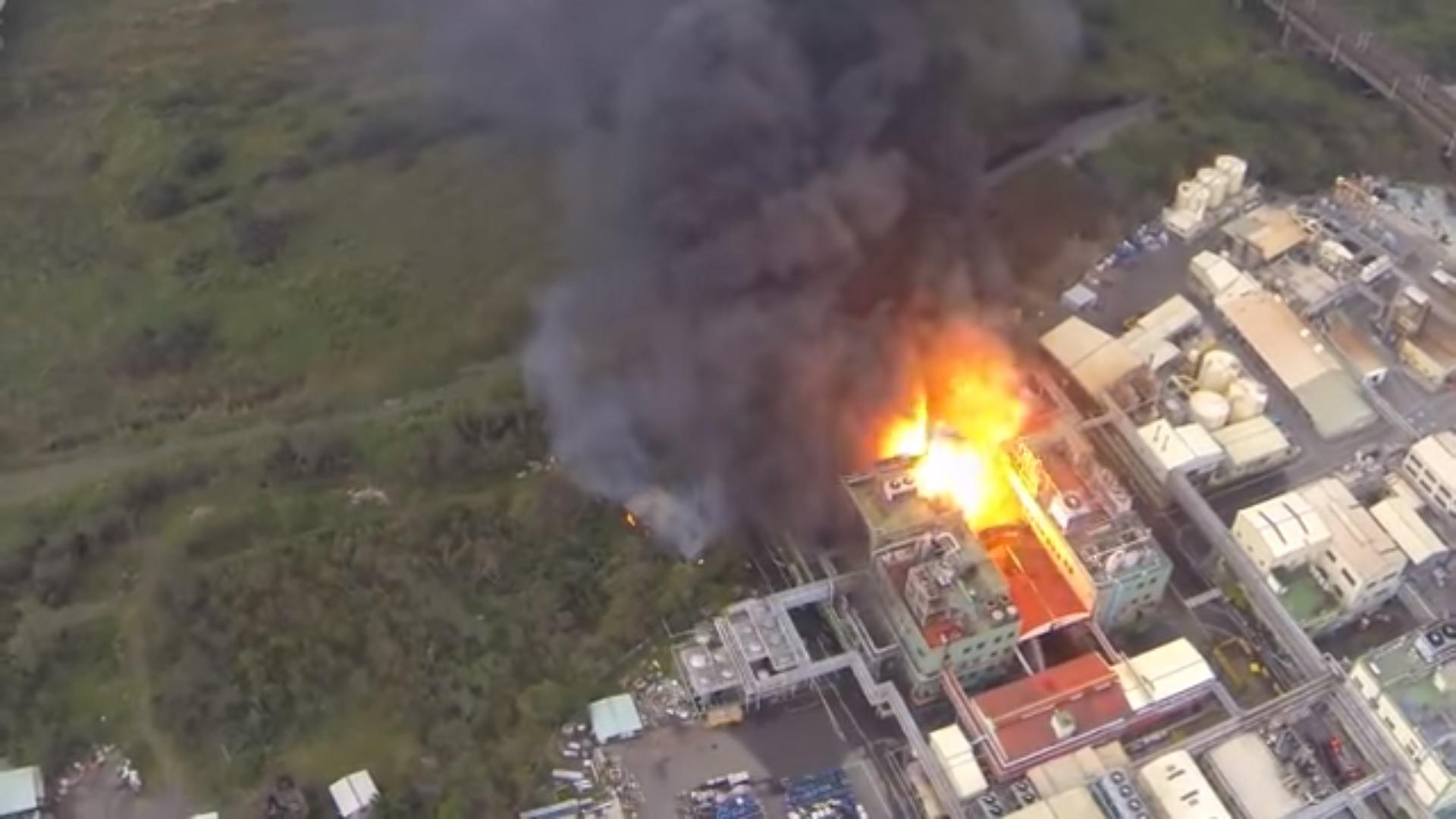 台中興農化工廠爆炸 1人傷重不治