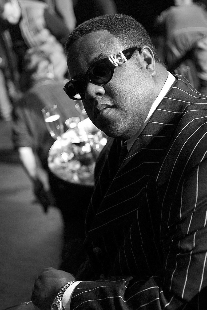 Jamal Woolard portrays the life of rapper Christopher Wallace, a.k.a the Notorious B.I.G., in Twentieth Century Fox's new movie 'Notorious'.