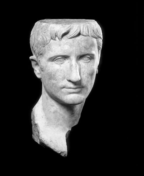 (National Gallery/MCT) A marble portrait of First Roman Emperor Augustus, circa early 1st century AD.
