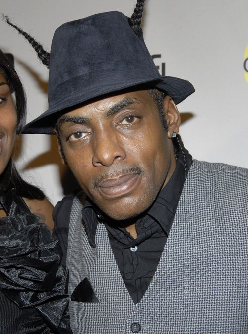 In this July 2008 file photo, rapper Coolio poses on the press line at the 'NBC Universal 2008 Press Tour All-Star Party' in Beverly Hills, California...