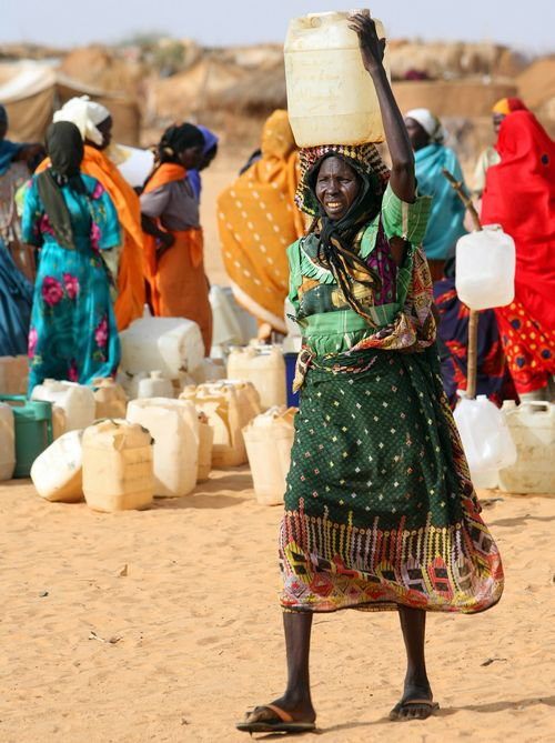 Some call the situation in Darfur an early example of a crisis fueled by climate change, with a resource-poor region further stressed by decreasing ra...