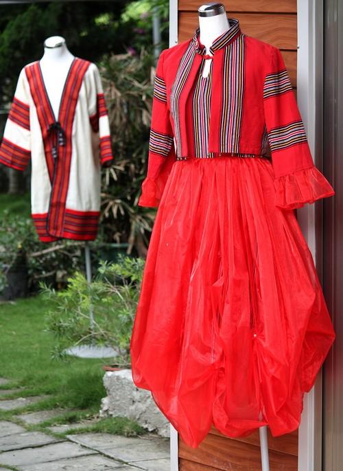 Seediq Tribe designer Awe Siyac's modern designs.