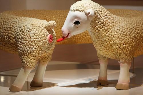 An art piece by Japanese artist Sako Kojima.
