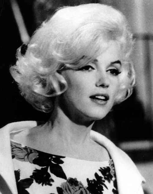 Actress Marilyn Monroe is shown on the set of her last movie, 'Something's Got To Give,' in Los Angeles, California in this April 1962 file photo.