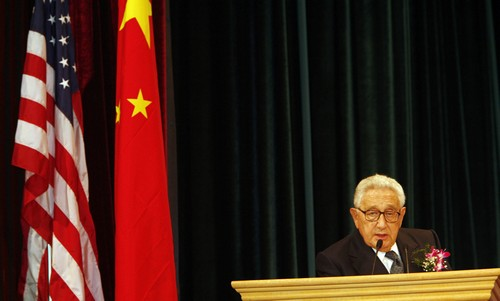 Kissinger is back in currency amid China bubble