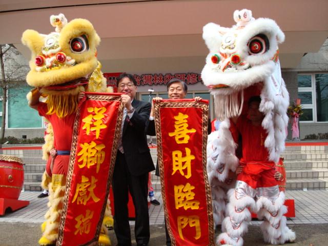 台灣林內斥資千萬打造研修中心,推出『365天服務全年無休』服務。