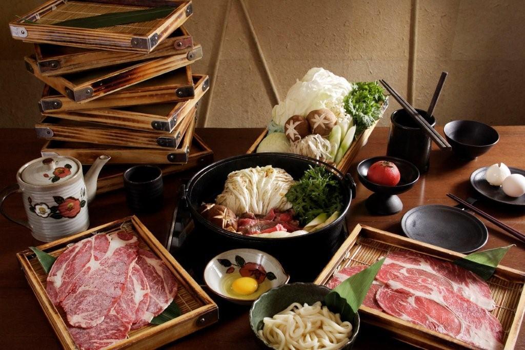 晶華酒店三燔本家推580元「梅花牛肉壽喜燒」吃到飽