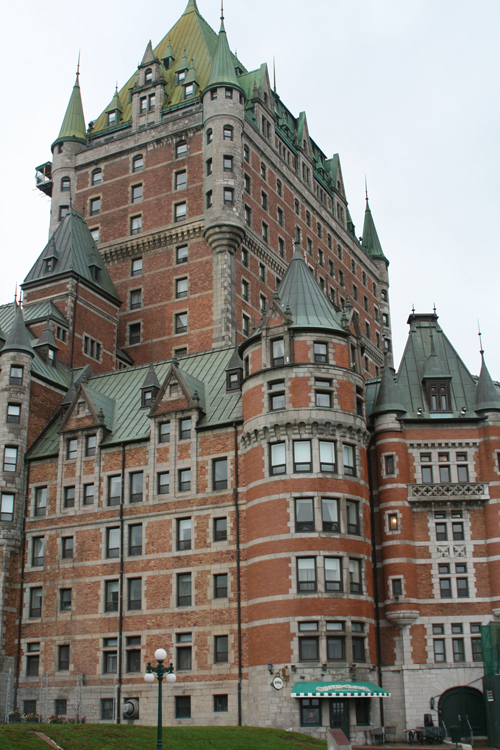 Possibly Canada's most beloved hotel, Le Chateau Frontenac, has been guarding its St. Lawrence River bluff ever since 1893.