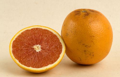 Meet the ecotic citrus varieties that can perk up wintertime meals:red navel orange.