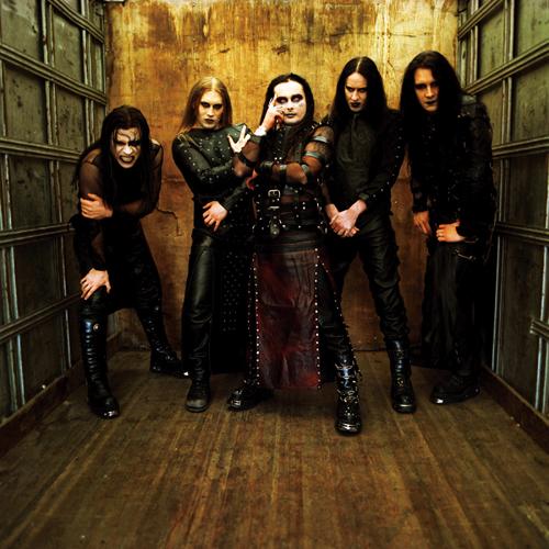 British goth-metal band Cradle of Filth.
