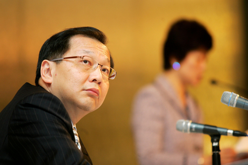 Taiwan Semiconductor Manufacturing Co. CEO Rick Tsai