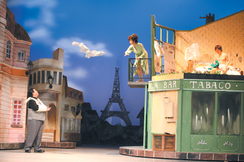 "Godot Theater Company presents ""Irma La Douce."""