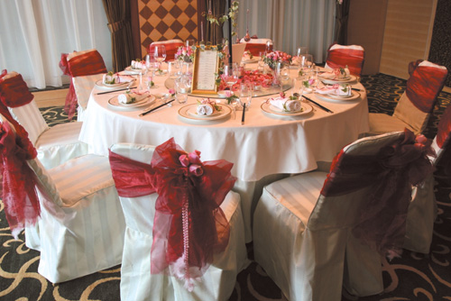 Evergreen offers wedding package