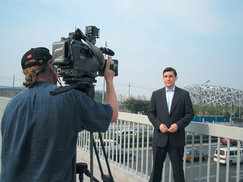 CNN airs Beijing Olympic countdown
