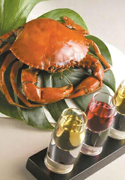 Far Eastern features crab feast