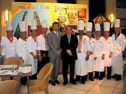 Malaysia food festival at Sunworld