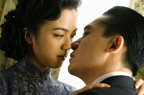 """Tong Wei, left, and Tony Leung are seen in """"Lust, Caution."""" Director Ang Lee has to axe the most """"exciting part"""" to pass Chinese censorship."""