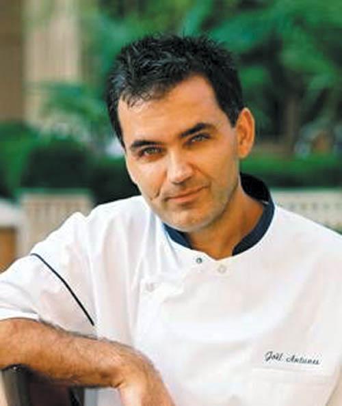 Chef Joel Antunes at Landis hotels
