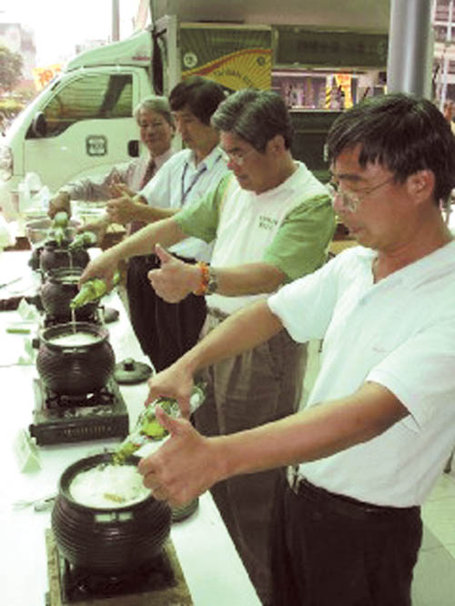 Tainan County promotes duck meat