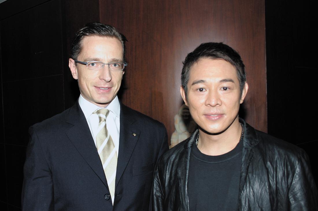 Far Eastern welcomes film star Jet Li