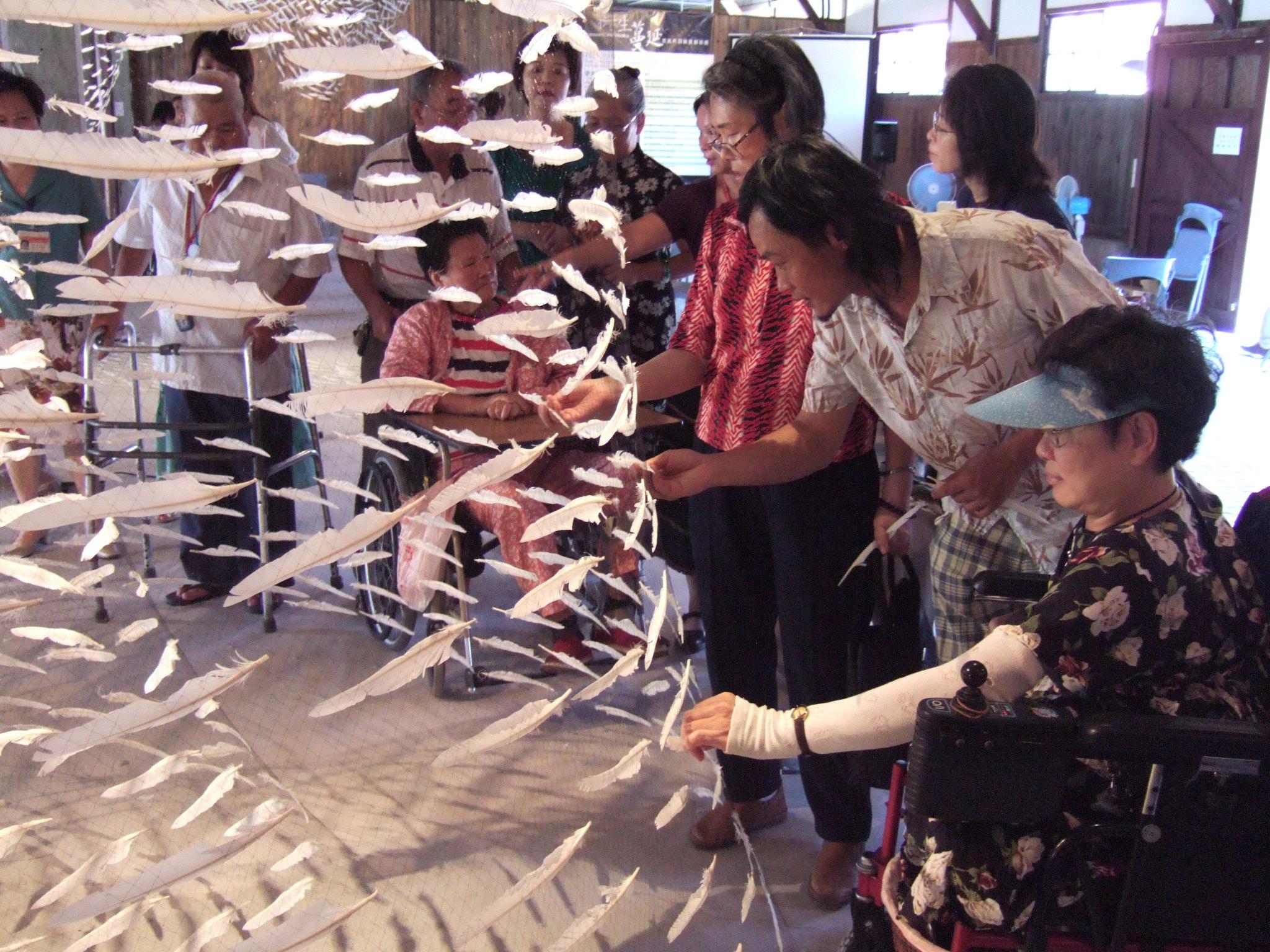 文化園區藝文活動,特別重視與民眾的互動。