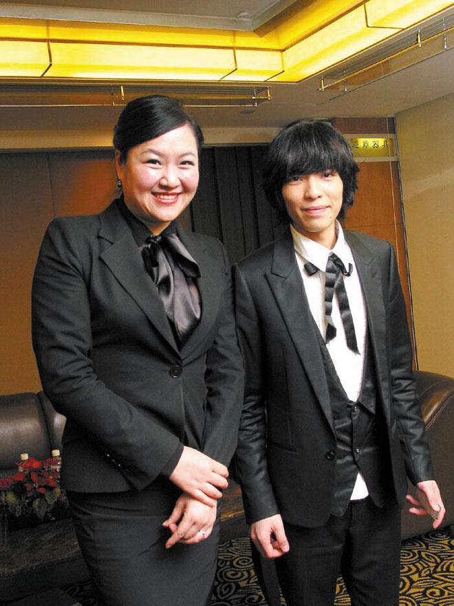 Celebrity Jam Hsiao meets press at Regent