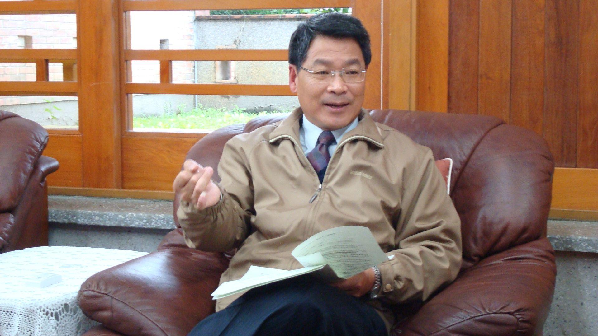 Yilan County Magistrate Lu Kuo-hua