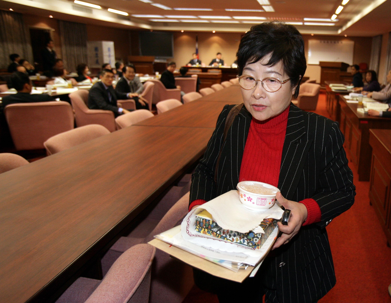 Opposition Democratic Progressive Party Legislator Chen Chieh-ju