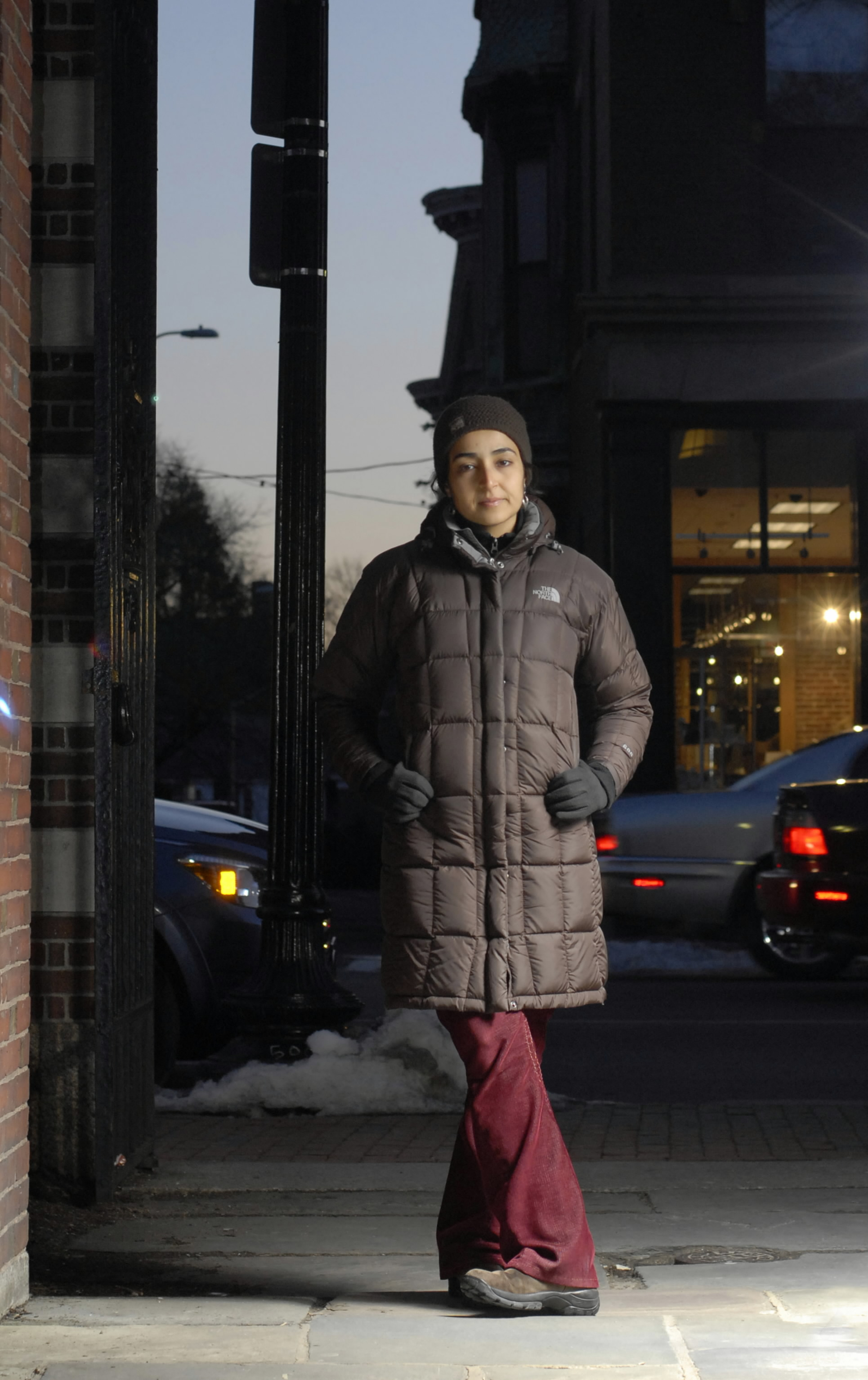 Zeenat Potia of Cambridge, Massachusetts, is seen in this undated photo. She has been trying to get her green card for the past five years and has had...