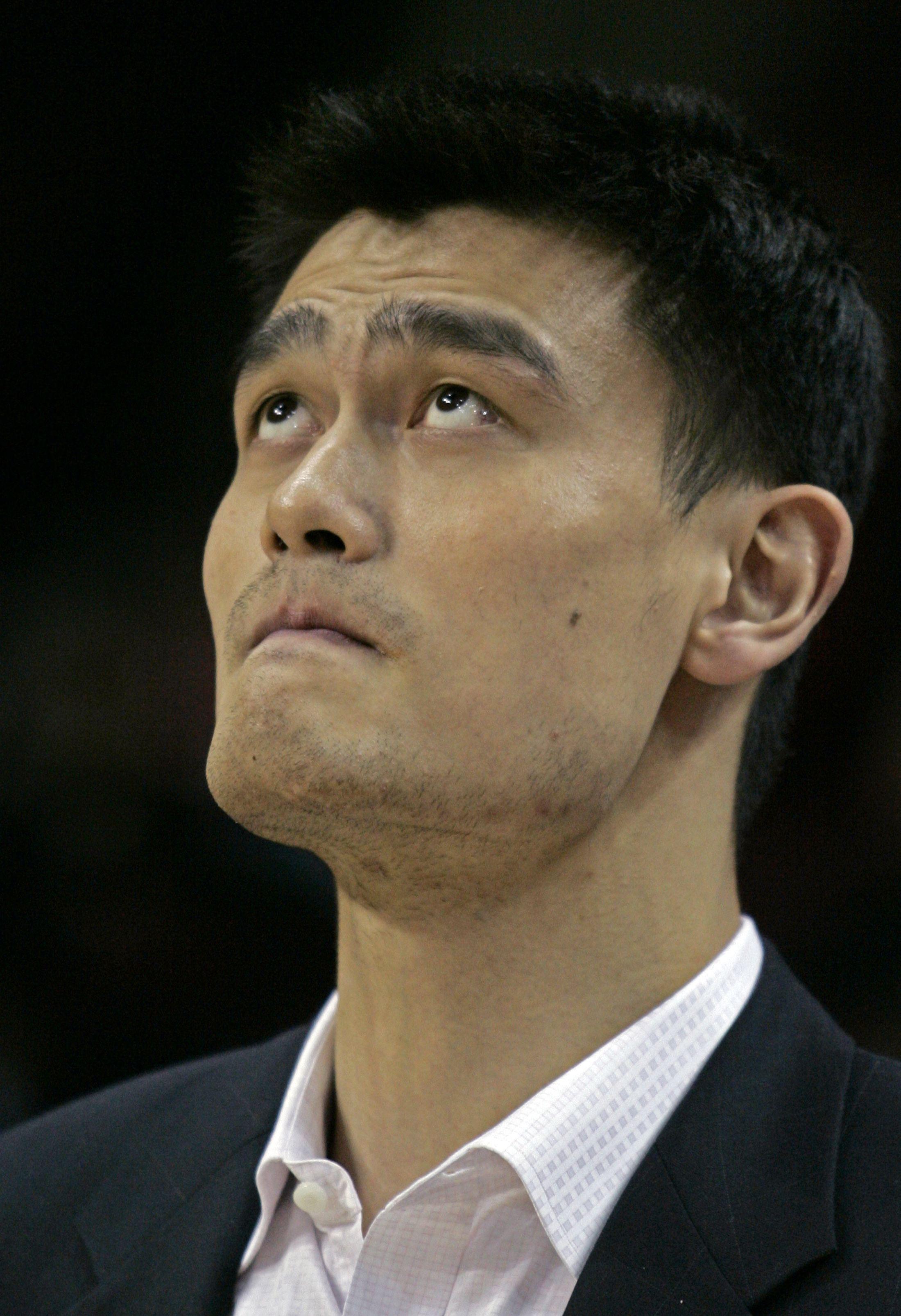 Houston Rockets center Yao Ming