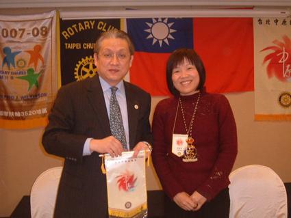 Hospitality guru speaks at Rotary