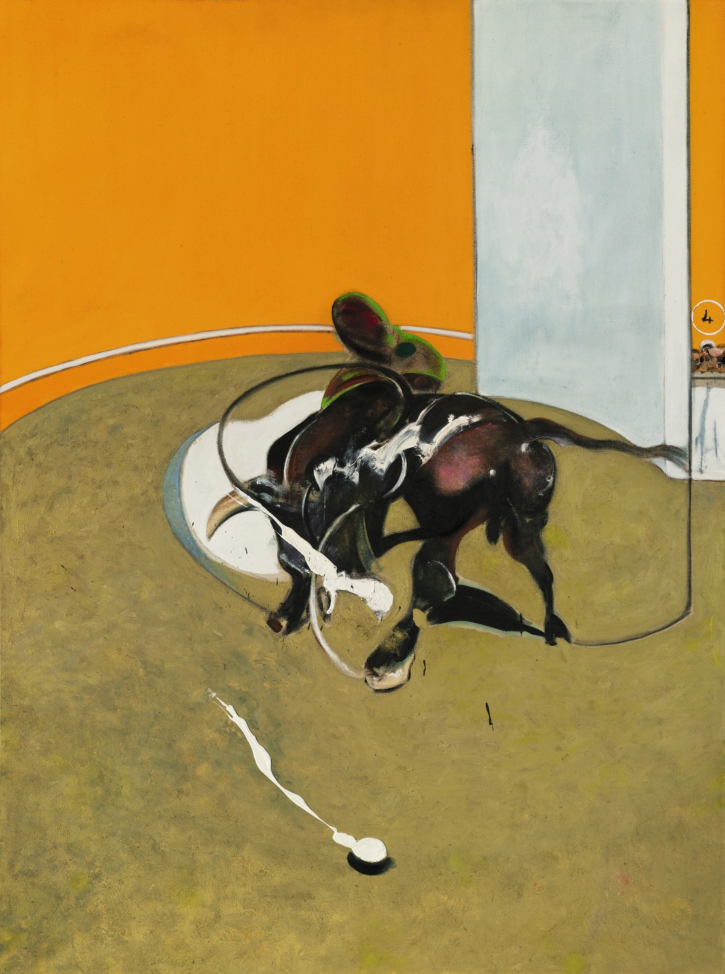 """""""Study for a Bullfight, No. 1, 2nd Version"""""""