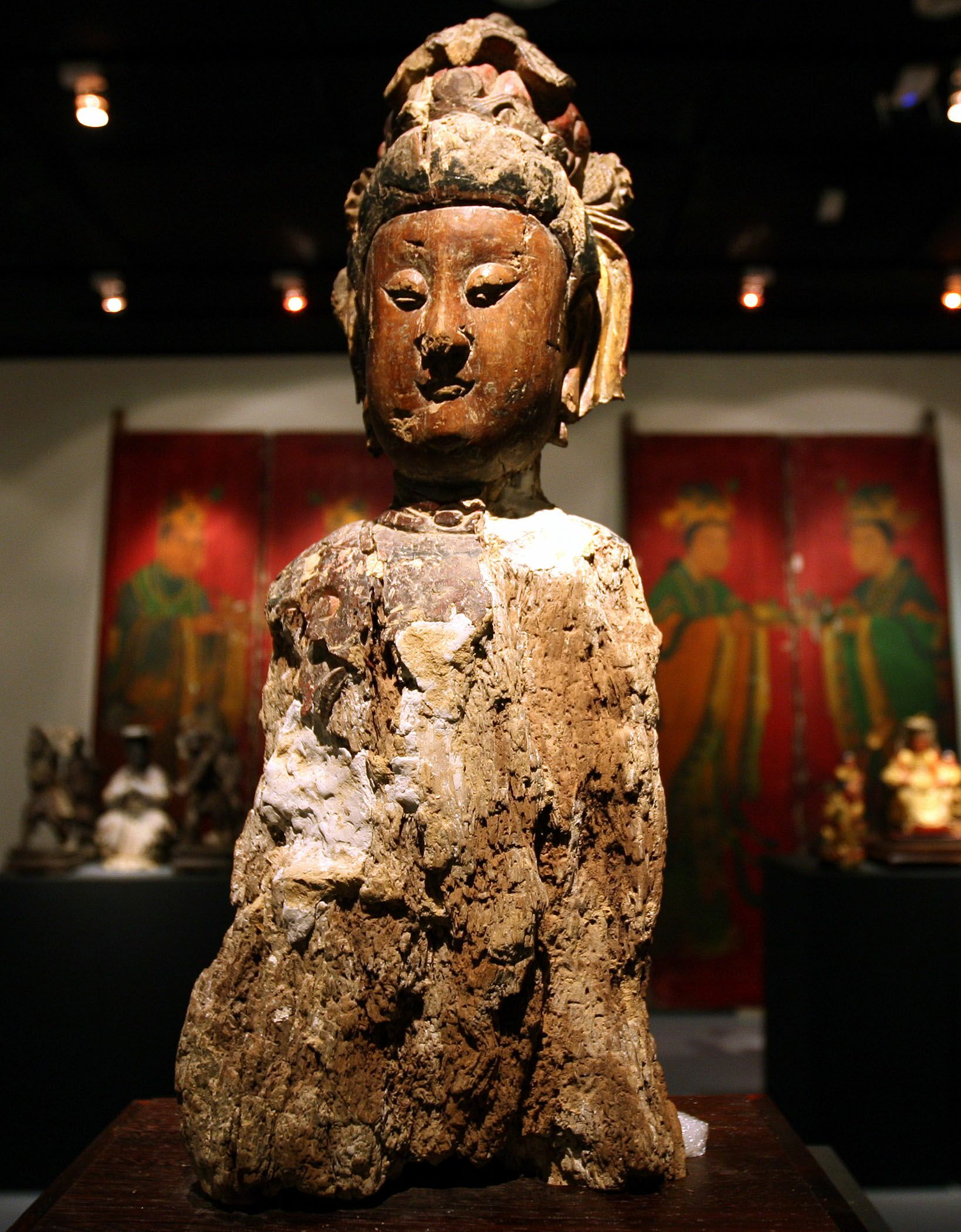 The Ma Zu josses on display at the National Museum of History includes one that dates back to 700 to 800 years ago.