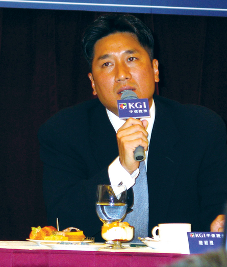 Angelo Kuo(file photo)has returned to Taiwan yesterday.  Koo is about to face prosecutors' questioning this week.